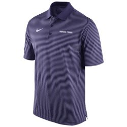 Nike Men's Texas Christian University Stadium Performance Polo Shirt