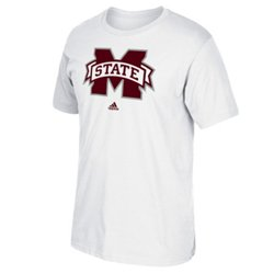 adidas™ Men's Mississippi State University School Logo T-shirt
