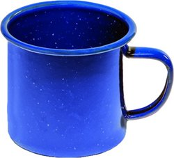 Texsport 12 oz. Enamelware Coffee Mug