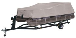 Marine Raider Model A Boat Cover Fits Most 17' - 20' Pontoon Boats