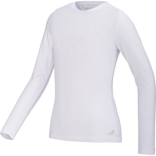 BCG Girls' Cold Weather Long Sleeve Crew Top