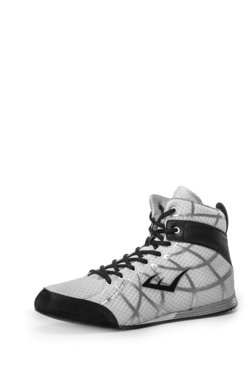 Men's Grid Low-Top Boxing Shoes