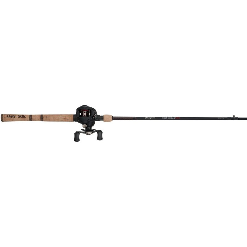 Shakespeare Ugly Stik Elite 6'6″ MH Baitcast Rod and Reel Combo Black – Fishing Combos, Baitcast Combos at Academy Sports