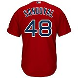 f2d339f8 Majestic Men's Boston Red Sox Pablo Sandoval #48 Cool Base® Replica Jersey