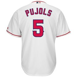 Majestic Men's Los Angeles Angels Albert Pujols #5 Cool Base® Replica Jersey