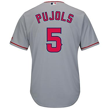 online retailer c48bc aba8a Majestic Men's Los Angeles Angels Albert Pujols #5 Cool Base® Replica Jersey