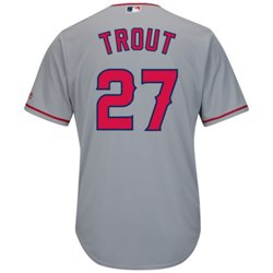 Men's Los Angeles Angels Mike Trout #27 Cool Base® Replica Jersey