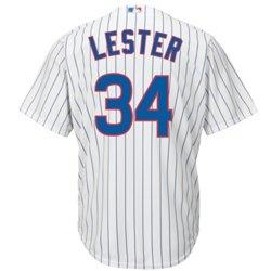 Majestic Men's Chicago Cubs Jon Lester #34 Cool Base® Replica Jersey