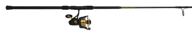 Penn Spinfisher V 10′ H Saltwater Spinning Rod and Reel Combo Black – Fishing Combos, Spinning Combos at Academy Sports