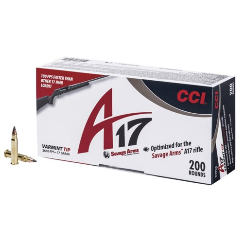 CCI® A17 Varmint Tip 17 HMR 17-Grain Rimfire Ammunition