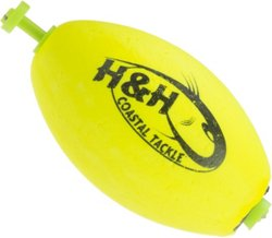 H&H Lure Oval Weighted Snap Floats 3-Pack