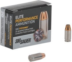 Elite V-Crown .380 ACP 90-Grain Centerfire Ammunition