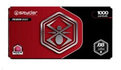 Spyder .68 Caliber Paintballs 1,000-Pack