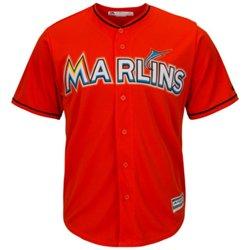 Majestic Men's Miami Marlins Cool Base® Replica Jersey