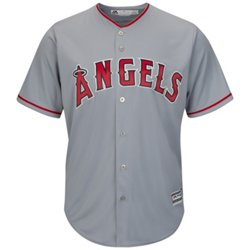 Majestic Men's Los Angeles Angels Cool Base® Road Replica Jersey