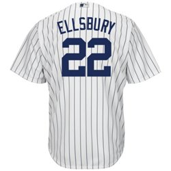 Majestic Men's New York Yankees Jacoby Ellsbury #22 Cool Base Replica Jersey