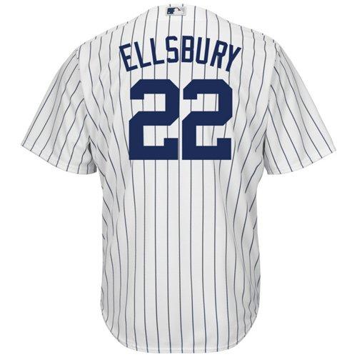 Majestic Men's New York Yankees Jacoby Ellsbury #22 Cool Base Replica Jersey