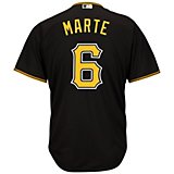 c4cc7f22477 Majestic Men s Pittsburgh Pirates Starling Marte  6 Cool Base® Jersey