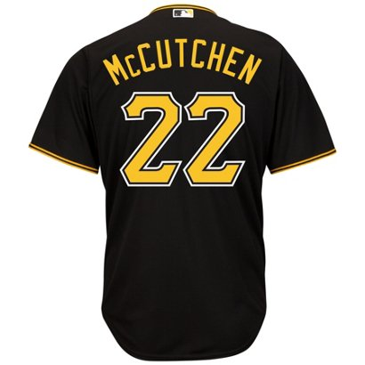 d5f2b3741 ... Majestic Men's Pittsburgh Pirates Andrew McCutchen #22 Cool Base®  Jersey. Pirates Men's Apparel. Hover/Click to enlarge