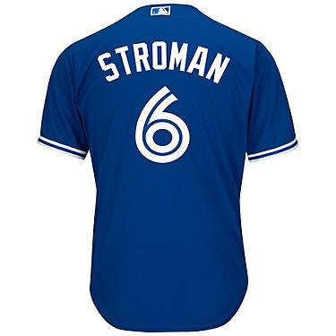 official photos 06139 ea4f4 Majestic Men's Toronto Blue Jays Marcus Stroman #6 Cool Base® Replica Jersey