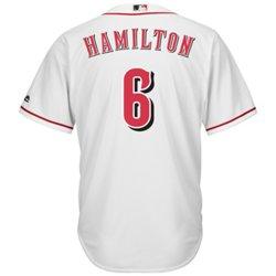 Majestic Men's Cincinnati Reds Billy Hamilton #6 Cool Base® Home Jersey