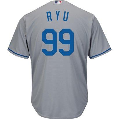 Majestic Men s Los Angeles Dodgers Hyun-jin Ryu  99 Cool Base ... 72a737c3e55