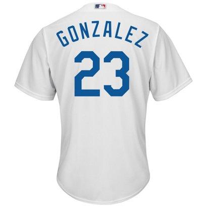 4e172366a Majestic Men's Los Angeles Dodgers Adrian Gonzalez #23 Cool Base ...