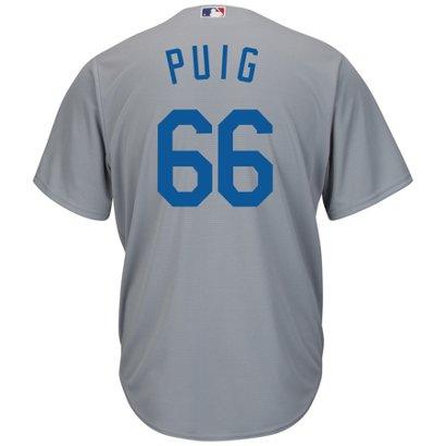 Majestic Men s Los Angeles Dodgers Yasiel Puig  66 Cool Base ... af69b484a74