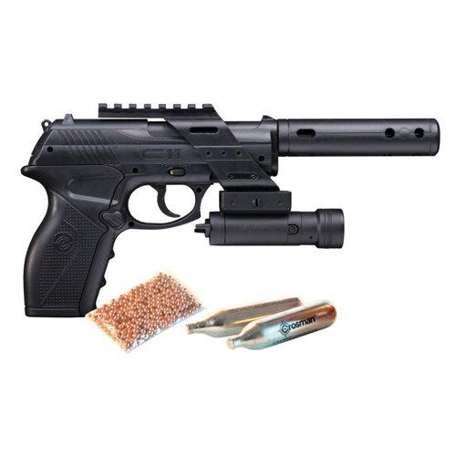 Crosman C11® .177 Caliber Tactical BB Air Pistol Kit