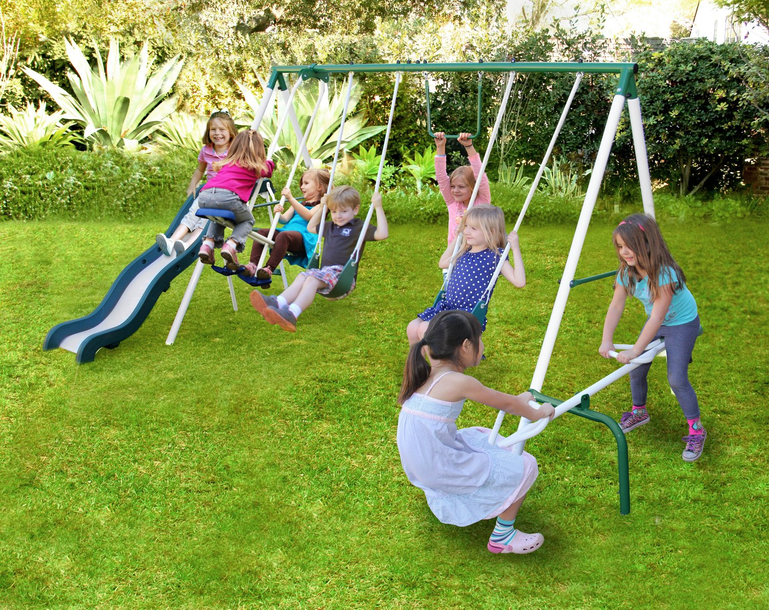 play sets swing sets fun playground sets academy. Black Bedroom Furniture Sets. Home Design Ideas