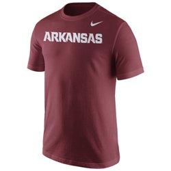 Nike™ Men's University of Arkansas Wordmark T-shirt