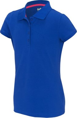 Austin Trading Co. Juniors' Uniform Short Sleeve Pique Polo Shirt