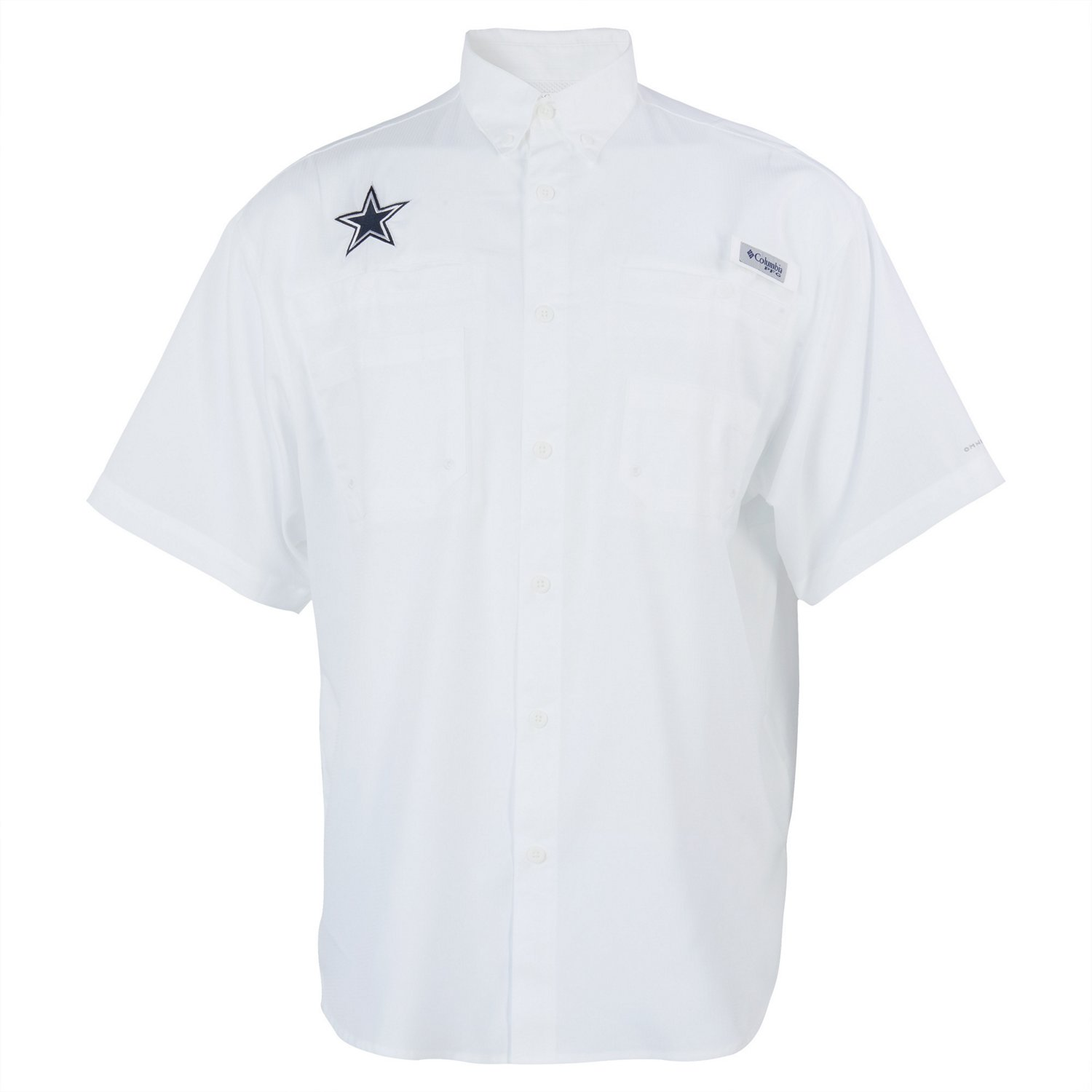 d8ecad77e Display product reviews for Columbia Sportswear Men s Dallas Cowboys PFG  Tamiami Fishing Shirt
