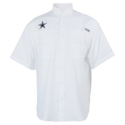 c26865746 Columbia Sportswear Men s Dallas Cowboys PFG Tamiami Fishing Shirt ...