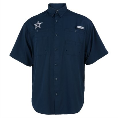 d52cefe2d46 ... Columbia Sportswear Men's Dallas Cowboys PFG Tamiami Fishing Shirt. Dallas  Cowboys Clothing. Hover/Click to enlarge
