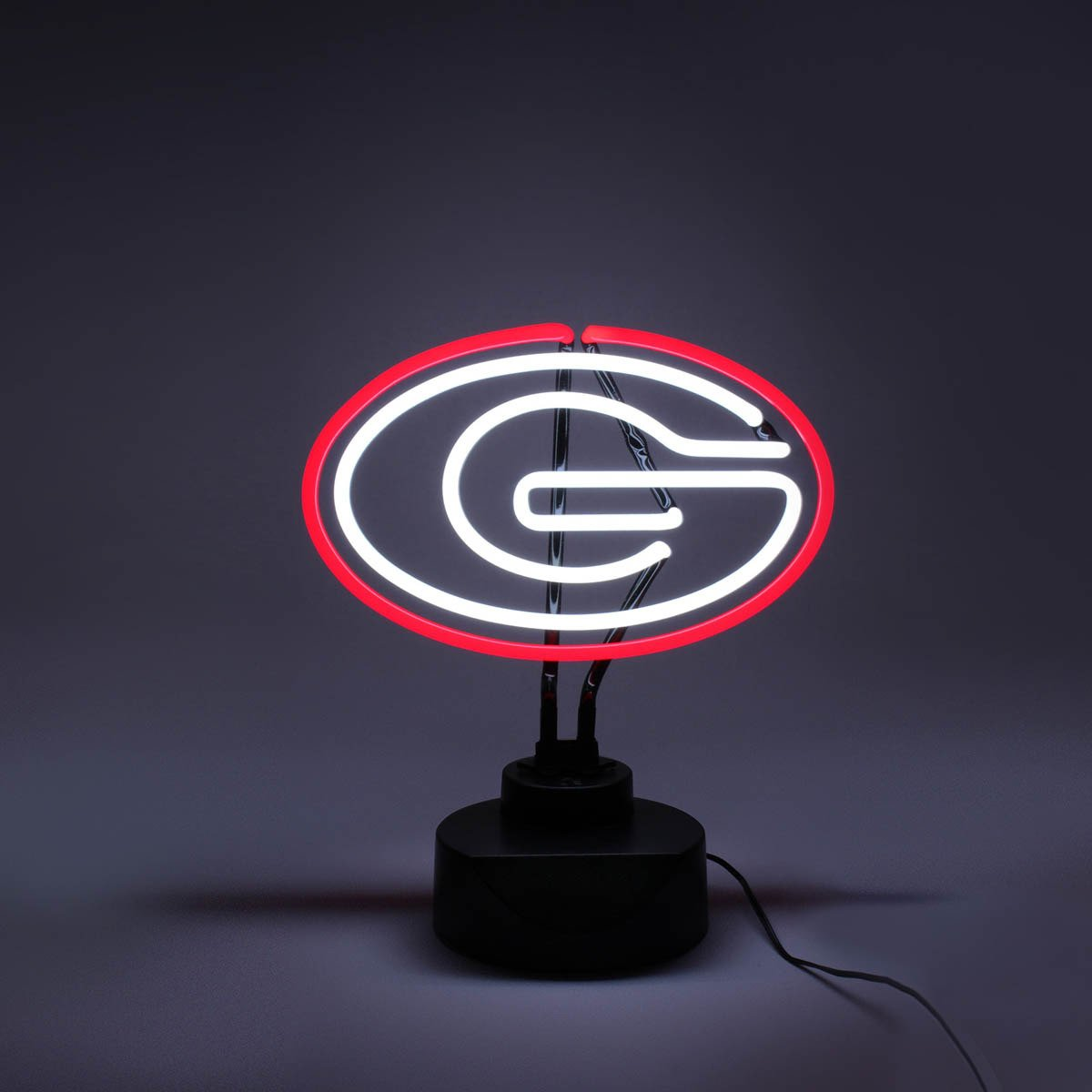 Display product reviews for AES Optics University of Georgia Tabletop Neon Light