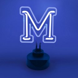 AES Optics University of Memphis Table Top Neon Light