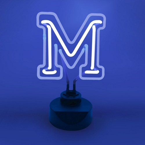 AES Optics University of Memphis Table Top Neon Light