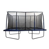 Upper Bounce® Mega 8' x 14' Rectangular Trampoline with Fiber Flex Enclosure System