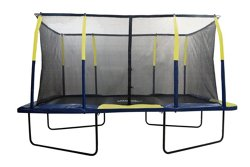 Upper Bounce® Mega 9' x 15' Rectangular Trampoline with Fiber Flex Enclosure System