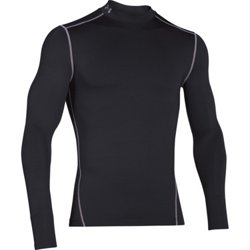 Men's ColdGear Armour Compression Mock Baselayer Shirt