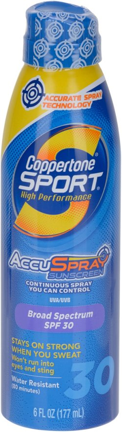Coppertone® Sport 6 oz. C Spray SPF 30 Sunscreen