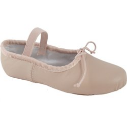 Kids' Full Sole Leather Ballet Shoes