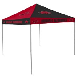 Logo University of Arkansas Straight-Leg 9 ft x 9 ft Checkerboard Tent