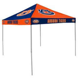 Logo Auburn University Straight-Leg 9 ft x 9 ft Checkerboard Tent