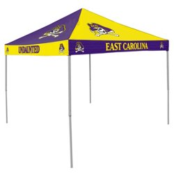 Logo East Carolina University Straight-Leg 9 ft x 9 ft Checkerboard Tent