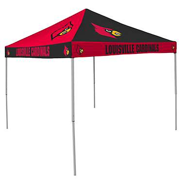 Logo University of Louisville Straight-Leg 9 ft x 9 ft Checkerboard Tent
