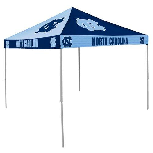 Logo University of North Carolina Straight-Leg 9 ft x 9 ft Checkerboard Tent