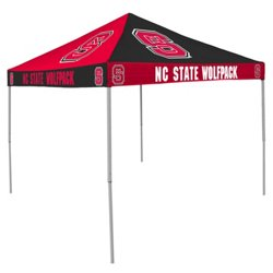 Logo North Carolina State University Straight-Leg 9 ft x 9 ft Checkerboard Tent