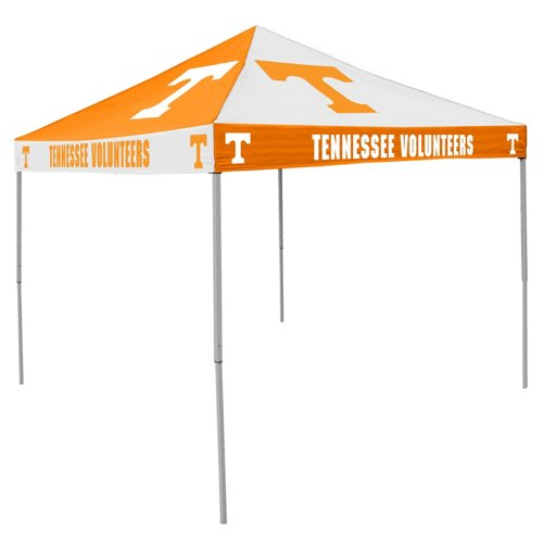 Logo University of Tennessee Straight-Leg 9 ft x 9 ft Checkerboard Tent